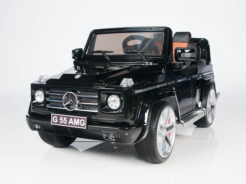 12v Official Mercedes Benz G55 Wagon Amg Ride On Car Black