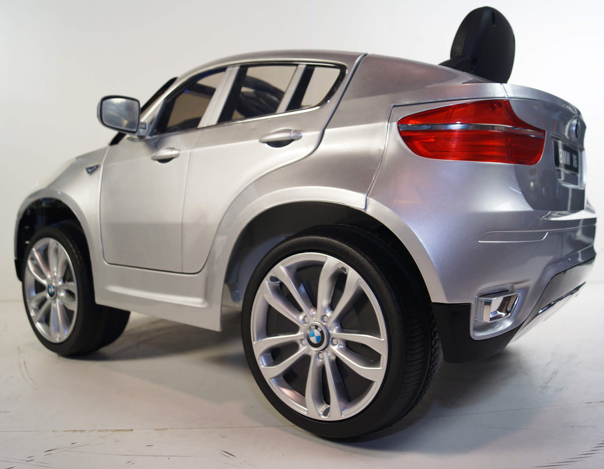 Official Kids 12v Sport Bmw X6 Ride On Car Silver